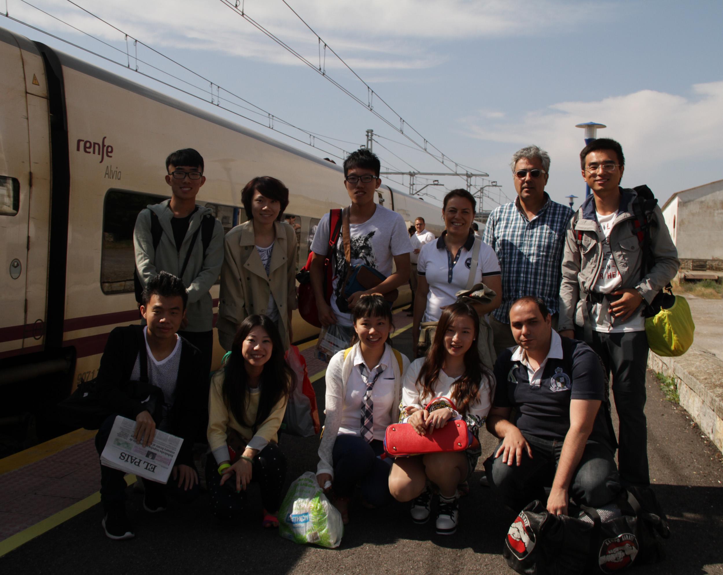 Estudiantes Chinos- Llegada Aguilar- FSMLR- 17072013