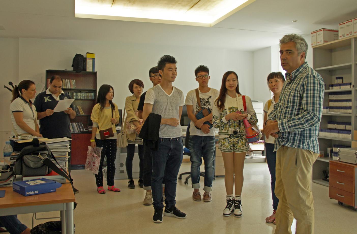 Estudiantes Chinos- Visita CTP- 17072013
