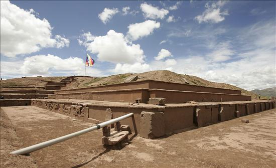 Pirámide Tiahuanaco- Bolivia- EFE- 16072013