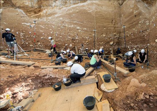 Atapuerca- Gran Dolina- EFE- 19082013