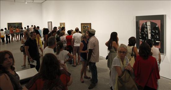 Exito Publico Expo Dalí 2- EFE- 26082013