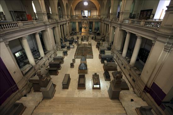 Museo El Cairo Saqueado- EFE- 23082013