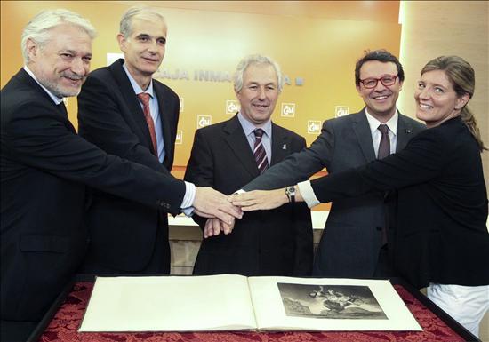 Grabdos Goya- Museo Fuentetodos- EFE- 27092013