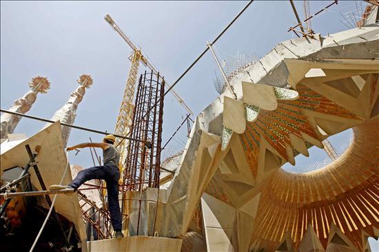 Sagrada Familia Obras- EFE- 18092013