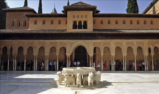 Alhambra Granada- Leones- EFE- 04102013