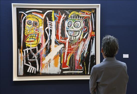 Basquiat- Subastas Arte- EFE- 16102013