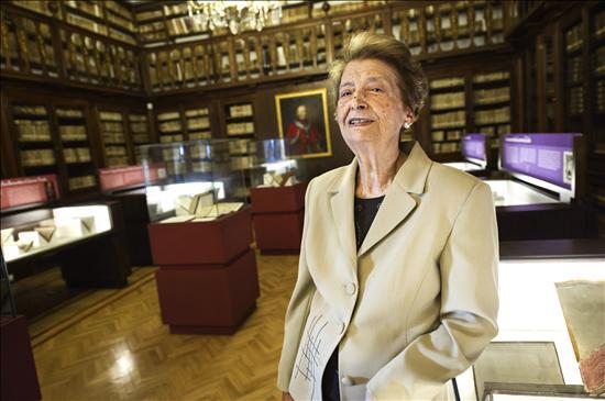 Bibliotecaria Octogenaria- EFE- 17102013