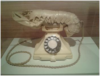"""White Aphrodisiac Telephone"", Salvador Dalí, 1936"