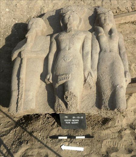 Estatua Ramses II - Egipto- EFE- 04102013