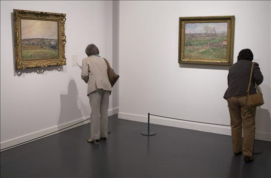 Expo Pissarro - CaixaForum Barna- EFE- 16102013