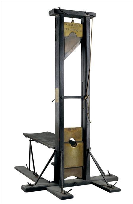 guillotina_Francia