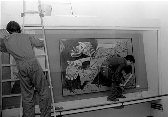 Boceto Guernica Picasso- EFE- 26082014