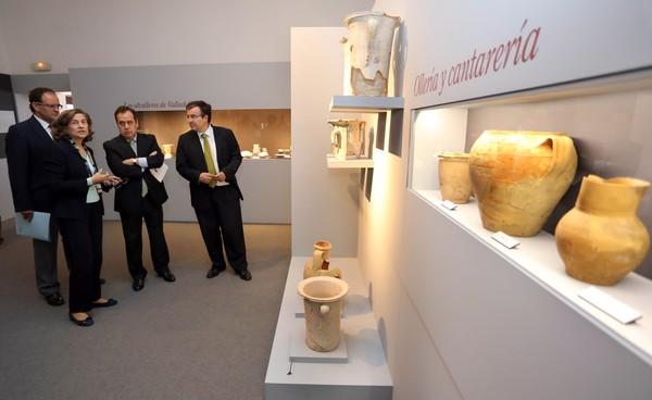 Exposición sobre alfarería