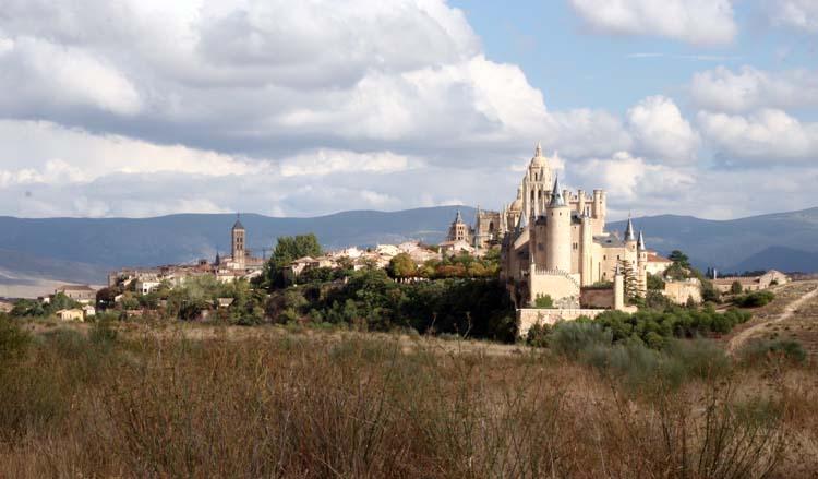 Panorámica de la ciudad de Segovia