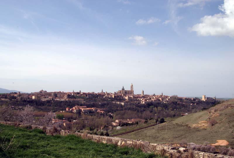 Vista panorámica de la ciudad de Segovia