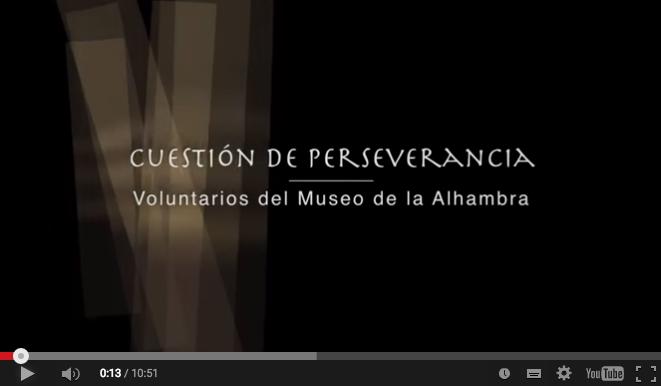 Voluntarios de Museo de la Alhambra