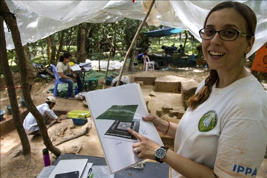 excavación Angkor