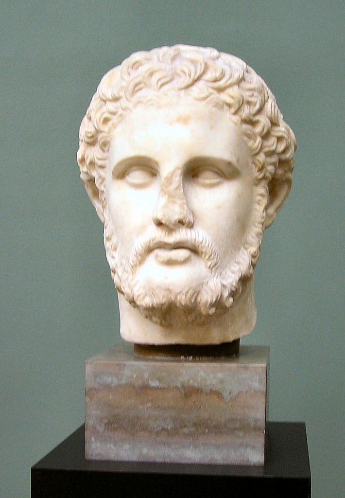 Busto de Filipo II de Macedonia