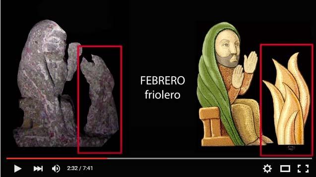 Fotograma del vídeo realizado por Horacio Vazquez