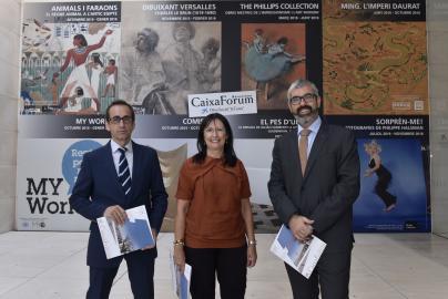 Presentación exposiciones CaixaForum