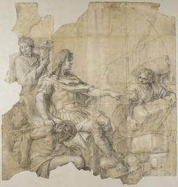 Restablecimiento de la navegación, Charles Le Brun