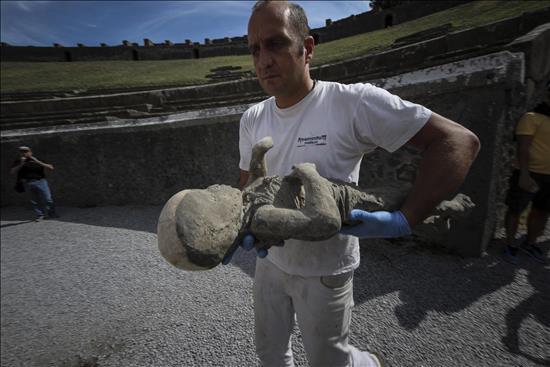 momia Pompeya