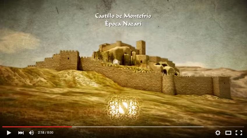 castillo de Montefrío en Granada