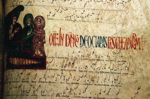miniatura. catedral de León
