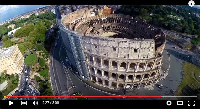 "Fotograma de ""Dron in Rome"""