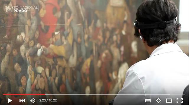 Fotograma vídeo Museo del Prado