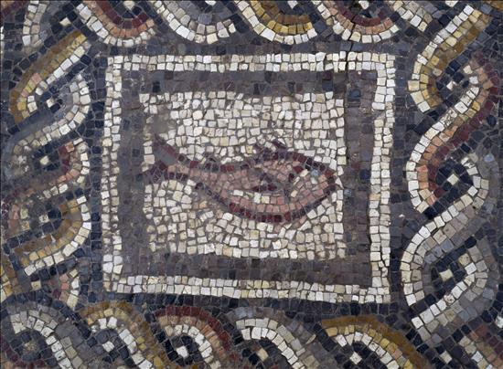 detalle, mosaico, Lod