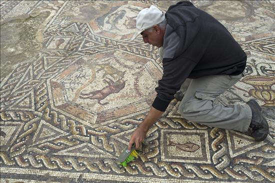 mosaico, Lod, Israel