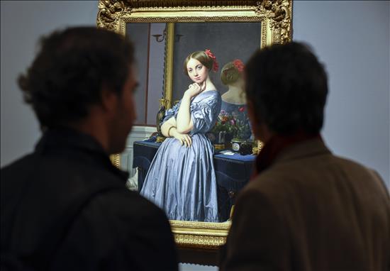 Obra de la exposición dedicada a Ingres