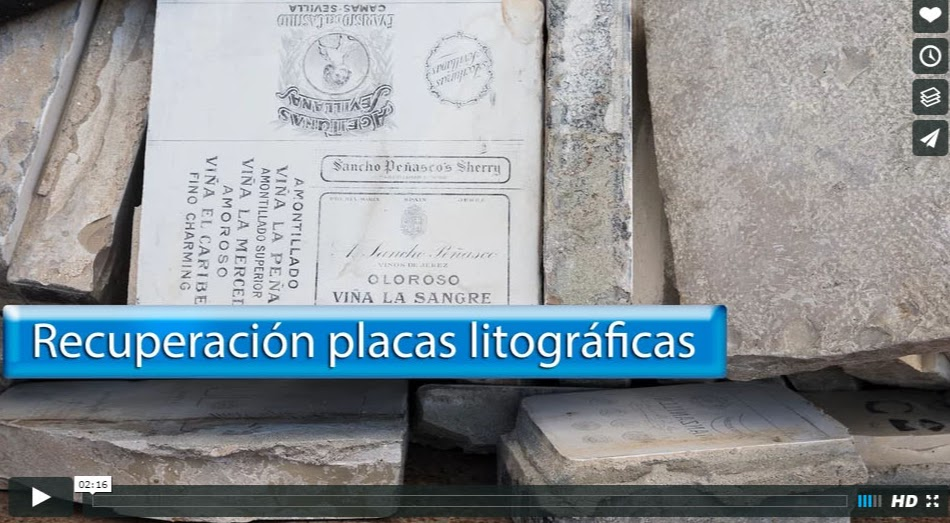 Recuperación placas litográficas, Jerez