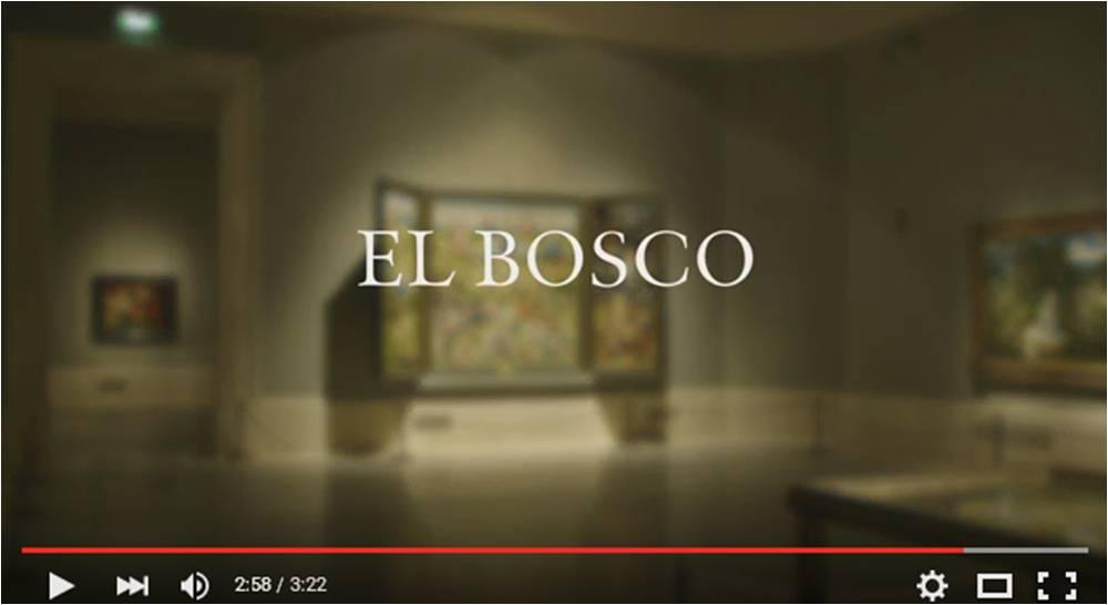 Captura vídeo documental de El Bosco