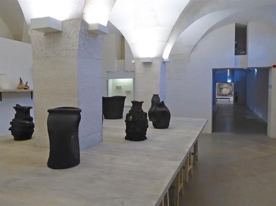 , vistas de dos de las salas del Museo Picasso-París