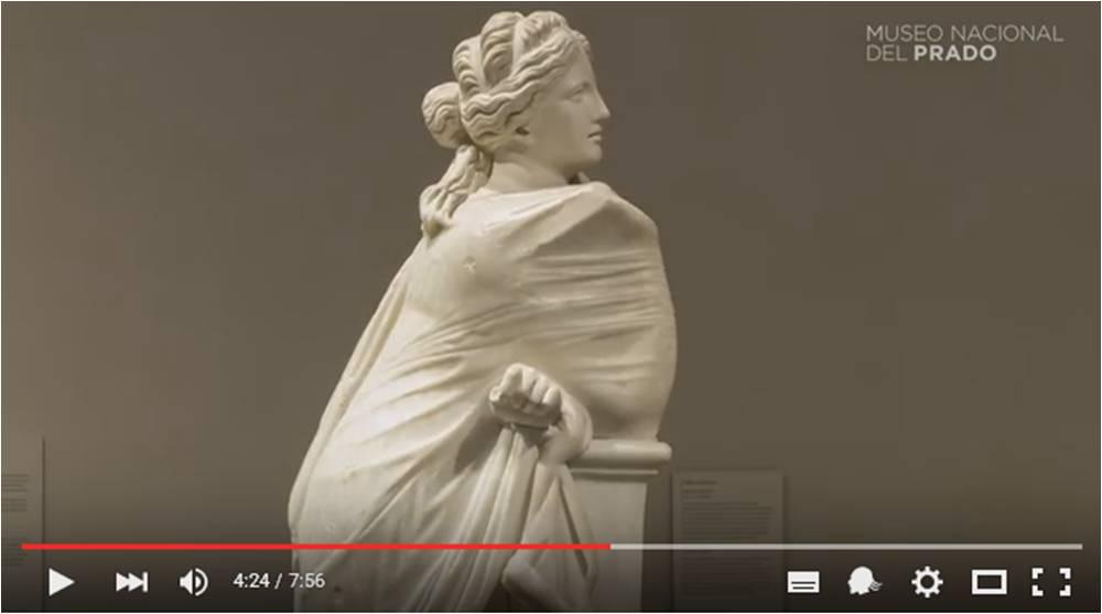 """Stephan Schröder, Jefe del Departamento de Escultura Clásica y del Renacimiento comenta la obra """"Musa pensativa"""" (50 - 90 d. C.) de autor anónimo."""