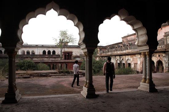 palacio Taj Mahal de Bhopal, India
