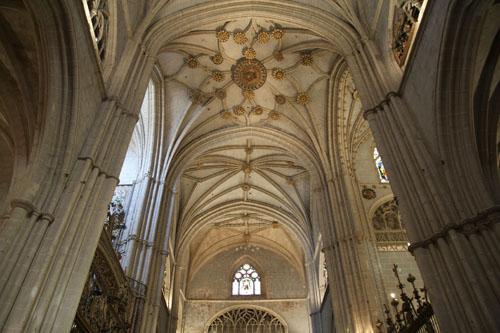 500 a–os de la finalizaci—n de la catedrald de Palencia Crucero de la catedral de Palencia construido entre 1485 y 1516