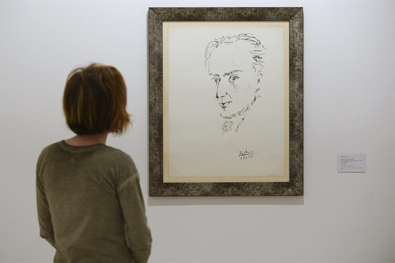 """Exposición """"Picasso. El trazo y las letras"""", Museo Patio Herreriano. Valladolid."""