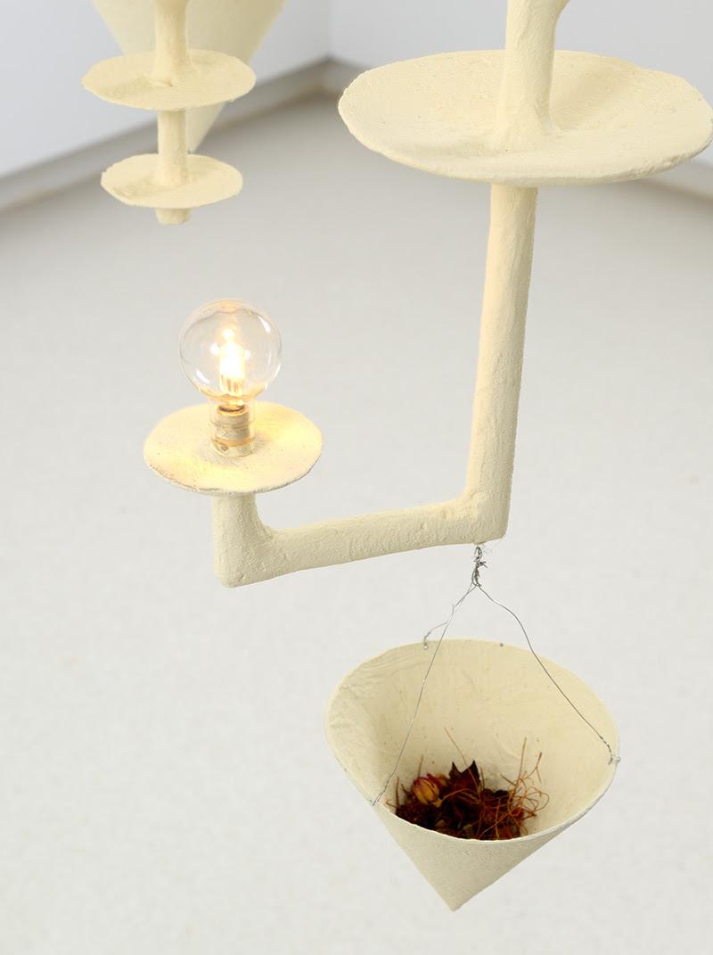 """Uno de los """"módulos"""" de la artista Pae White. Cuauhtli Gutiérrez, cortesía Galería Elvira González."""