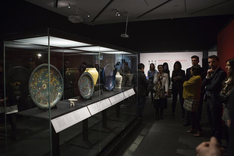 """Exposición """"Ming. El imperio dorado"""" en CaixaForum de Zaragoza."""