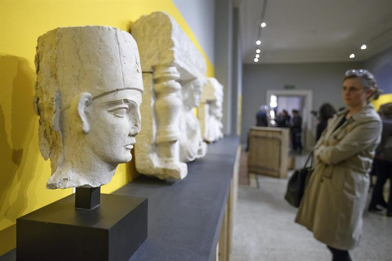 Obras de arte confiscadas de Siria, Yemen y Libia, expuestas en Ginebra