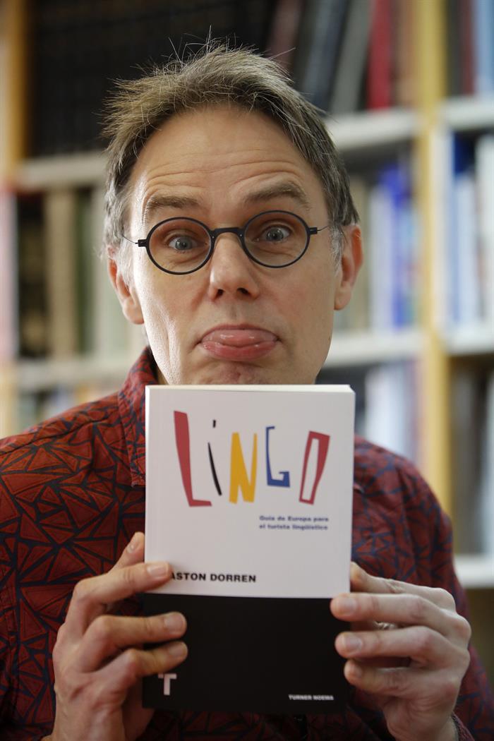 """El políglota holandés Gaston Dorren, autor del libro """"Lingo, Guia de Europa para el turista lingüístico"""""""