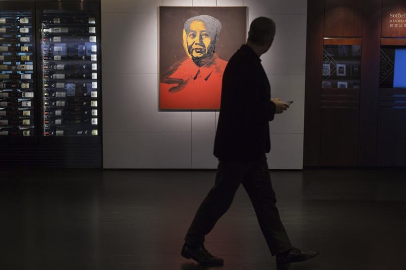 Uno de los Mao de Andy Warhol llega a subasta por primera vez a China