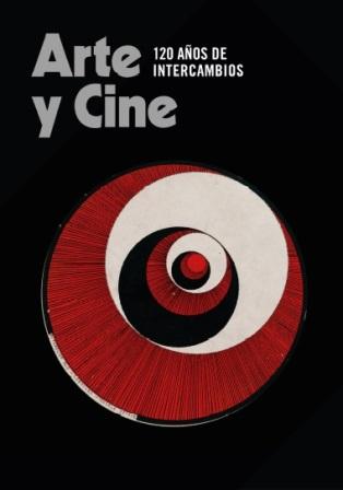 Cartel de la muestra 'Arte y Cine' en CaixaForum de Madrid. Fundación La Caixa.