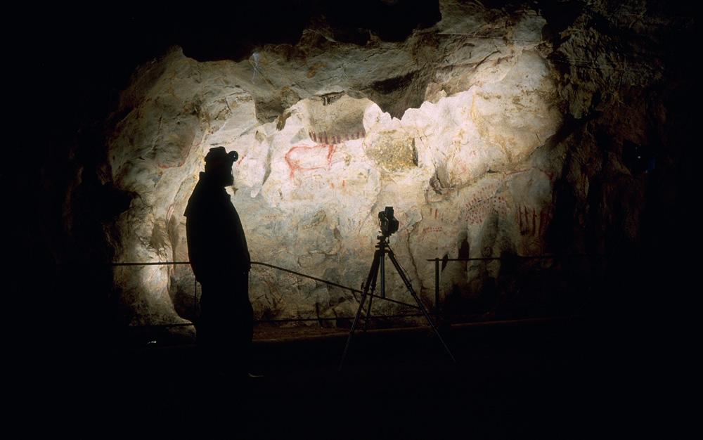 En la cueva del Pindal