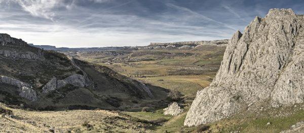 Paraje del Geoparque de Las Loras.