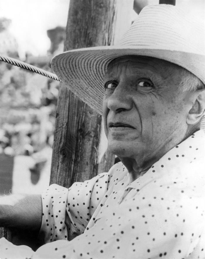 Retrato de Pablo Picasso.