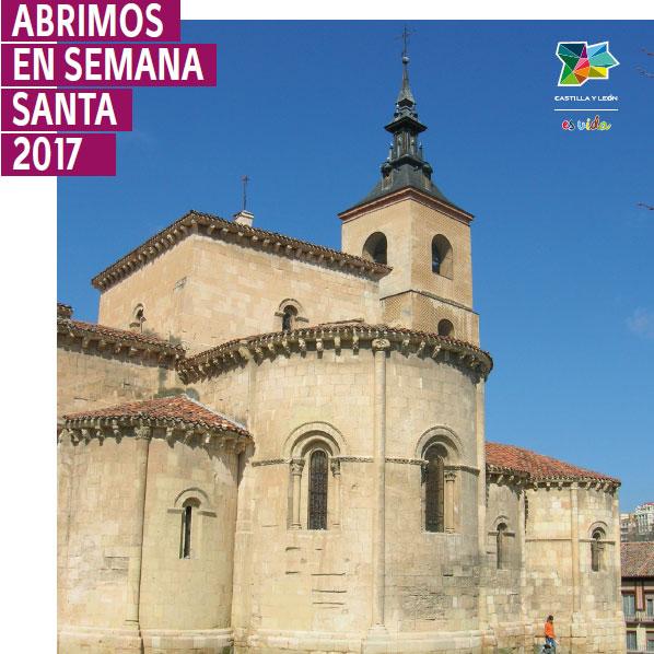 Imagen de la campaña 'Abrimos en Semana Santa' de la Junta de Castilla y León